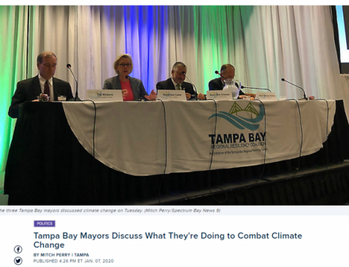 Tampa Bay Mayors Discuss What They're Doing to Combat Climate Change