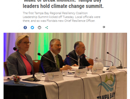 'Make or break moment.' Tampa Bay leaders hold climate change summit.