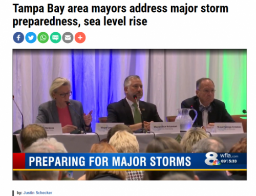 Tampa Bay area mayors address major storm preparedness, sea level rise