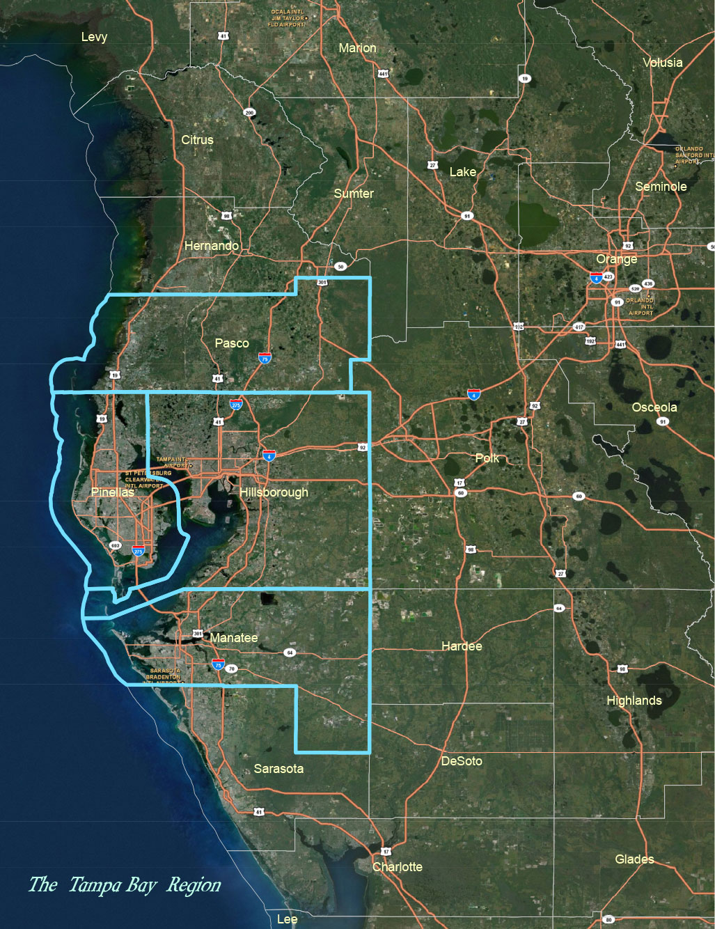 Map Of The Tampa Bay Area Tbrpc Withlacoochee river electric cooperative power outage map ▼. map of the tampa bay area tbrpc